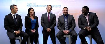 Accumen's Performance Assessment Team during a recent webinar